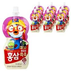 뽀로로 홍삼쏙쏙 어린이음료 100ml
